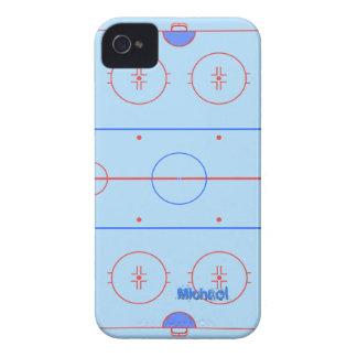 ホッケーのスケートリンク Case-Mate iPhone 4 ケース