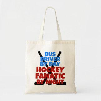 ホッケーの恋人のバス運転手 トートバッグ