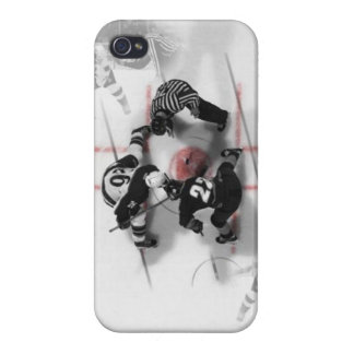 ホッケーのiphone 4ケース iPhone 4/4Sケース