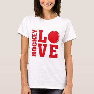 ホッケー愛、フィールドホッケーのTシャツ Tシャツ