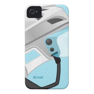 ホッケー選手のヘルメットのiphone 4ケース Case-Mate iPhone 4 ケース