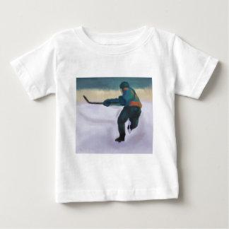 ホッケー選手、Tシャツ/ワイシャツ ベビーTシャツ