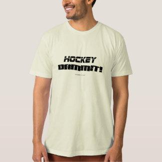 ホッケーDAMMIT! Tシャツ