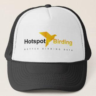ホットスポットの野鳥観察のトラック運転手の帽子 キャップ