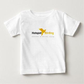ホットスポットの野鳥観察はTシャツをからかいます ベビーTシャツ