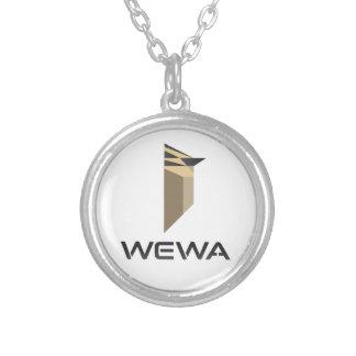 ホットスポットの野鳥観察WEWAの商品 シルバープレートネックレス