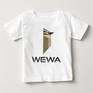 ホットスポットの野鳥観察WEWAの商品 ベビーTシャツ