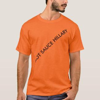 ホットソースヒラリー Tシャツ