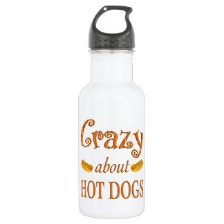 ホットドッグについて熱狂する ウォーターボトル