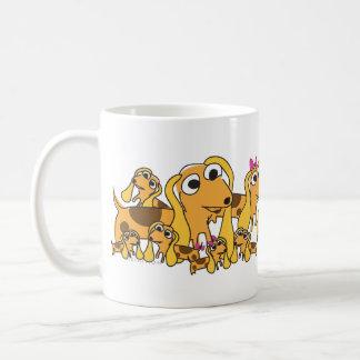 ホットドッグのイヌ科のマグ コーヒーマグカップ