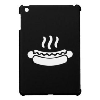 ホットドッグのピクトグラムのiPad Miniケース iPad Miniケース