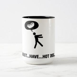 ホットドッグの恋人 ツートーンマグカップ
