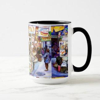 ホットドッグの神、ニューヨーク マグカップ