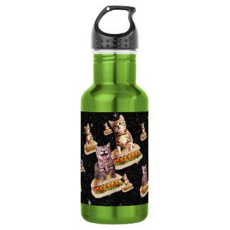 ホットドッグ猫の侵入 ウォーターボトル