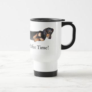 ホットドッグ! それはコーヒー時間です トラベルマグ