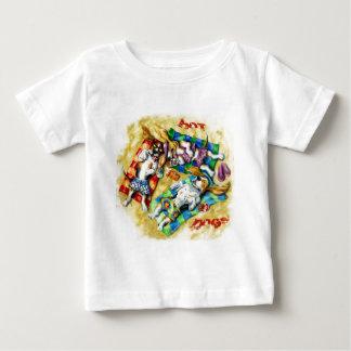 ホットドッグ ベビーTシャツ