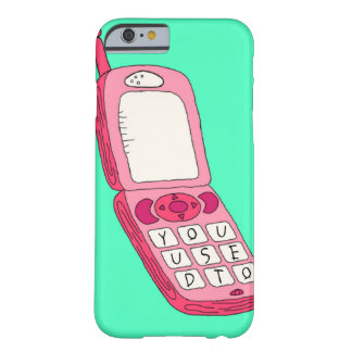 ホットラインのきらきら光るで刺激を受けたな電話箱 BARELY THERE iPhone 6 ケース