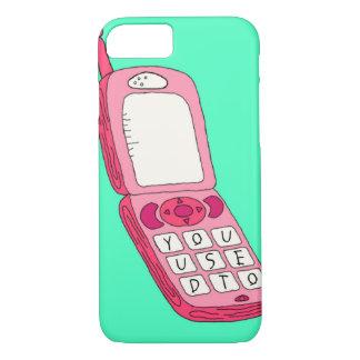 ホットラインのきらきら光るで刺激を受けたな電話箱 iPhone 8/7ケース