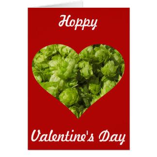 ホップの豊富なバレンタインデー! カード