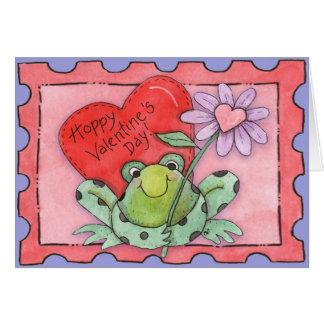 ホップの豊富なバレンタインデー-挨拶状 カード