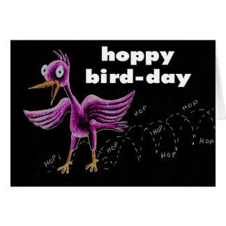 ホップの豊富な鳥日 カード