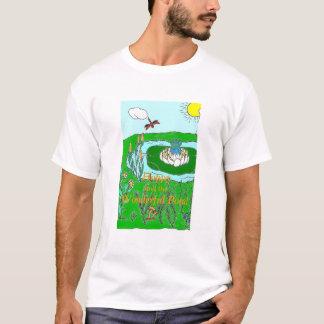 ホップの豊富、すばらしい池 Tシャツ