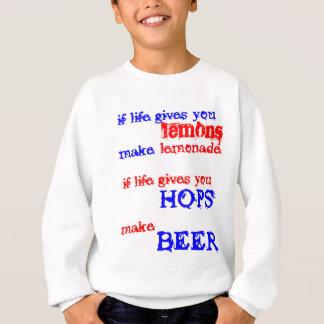 ホツプからのビール スウェットシャツ
