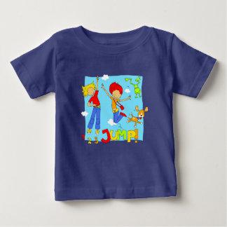 ホツプのホツプのジャンプ服装 ベビーTシャツ