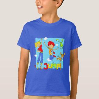 ホツプのホツプのジャンプ服装 Tシャツ