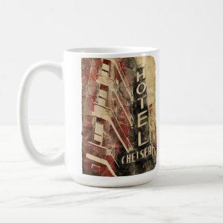 ホテルのチェルシーNYCのマグ コーヒーマグカップ