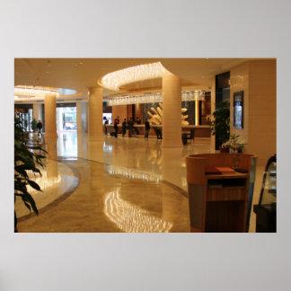 ホテルの晋江の大理石の中国 ポスター