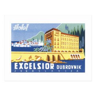 ホテルの木毛ドゥブロブニク ポストカード