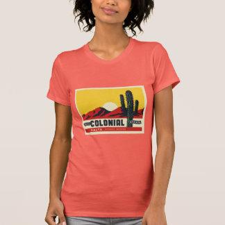 ホテルの植民地の住民 Tシャツ
