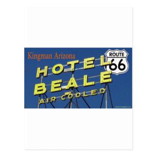 ホテルのBealeのルート66 Kingmanアリゾナ2 ポストカード