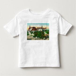 ホテルのdel Coronadoの南東概観 トドラーTシャツ