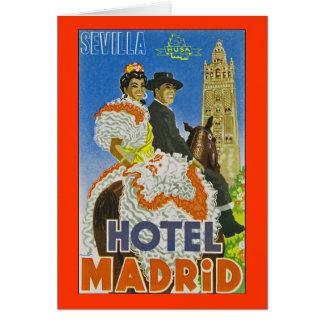 ホテルマドリード カード