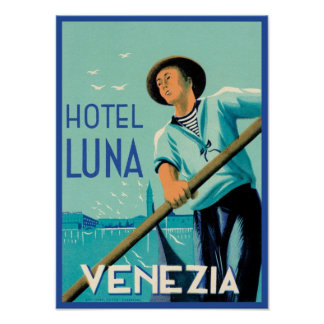 ホテルルナVenezia ポスター