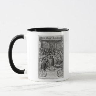 ホテルde villeのルイ14世の夕食 マグカップ