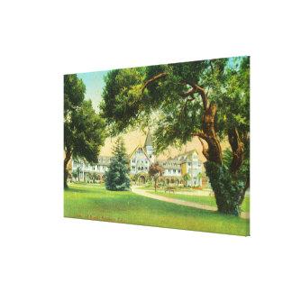 ホテルdel Monteの外観 キャンバスプリント