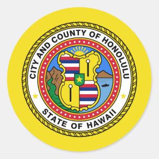ホノルル、ハワイ、米国 ラウンドシール