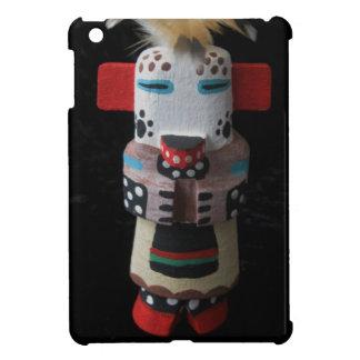 ホピー族KACHINAのシロクマIのパッドの小型箱 iPad MINIケース