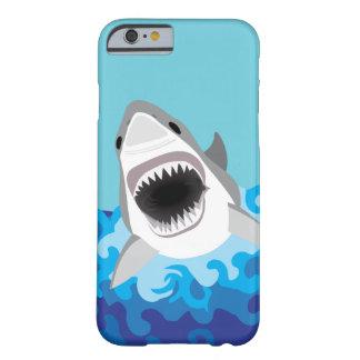 ホホジロザメのおもしろいな漫画 BARELY THERE iPhone 6 ケース