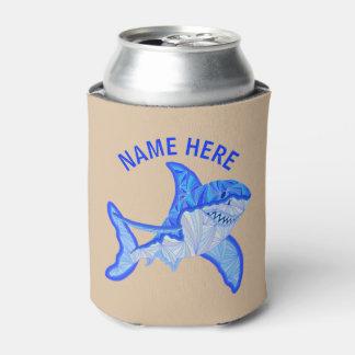 ホホジロザメのカラフルな海洋動物の習慣 缶クーラー