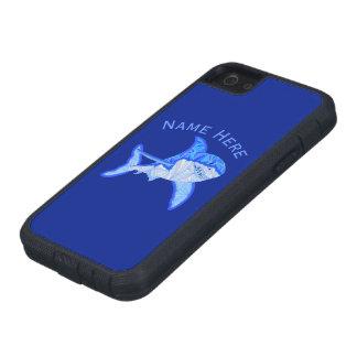 ホホジロザメのカラフルな海洋動物 iPhone SE/5/5s ケース
