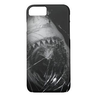 ホホジロザメの攻撃のiPhone 7カバー iPhone 8/7ケース