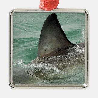 ホホジロザメの背面のエルロン メタルオーナメント