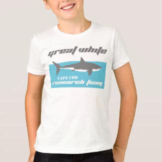 ホホジロザメの調査チームのケープコッドのTシャツ Tシャツ