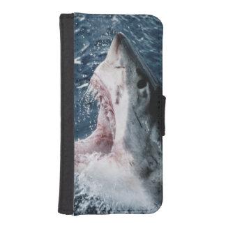 ホホジロザメの頭部 iPhoneSE/5/5sウォレットケース
