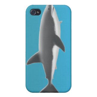 ホホジロザメのSpeckの場合 iPhone 4 カバー