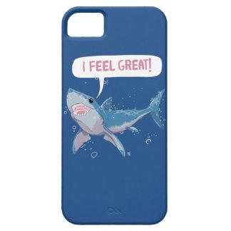 ホホジロザメは素晴らしい感じます iPhone SE/5/5s ケース